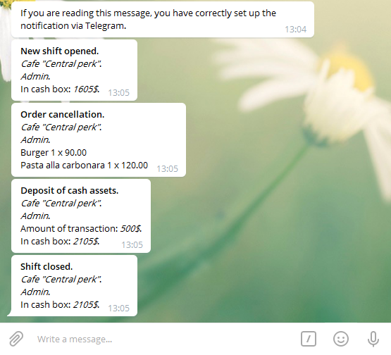 How to add SkyService POS notifications
