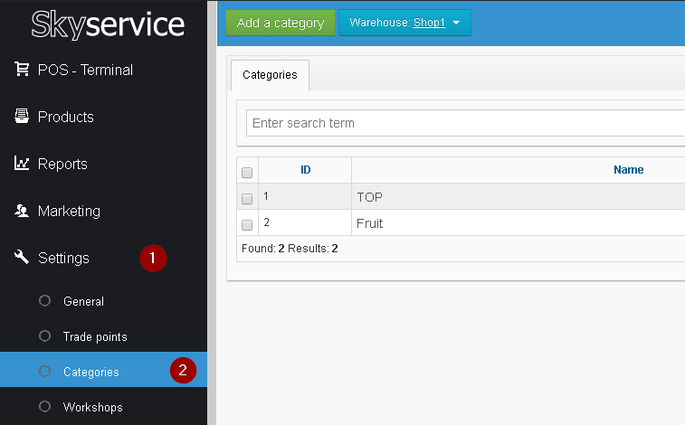 Configure SkyService POS Cloud Checkout