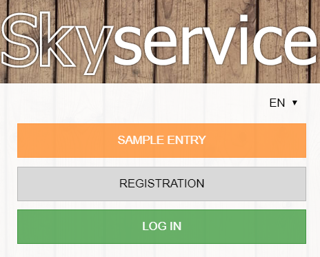 View without registering SkyService POS